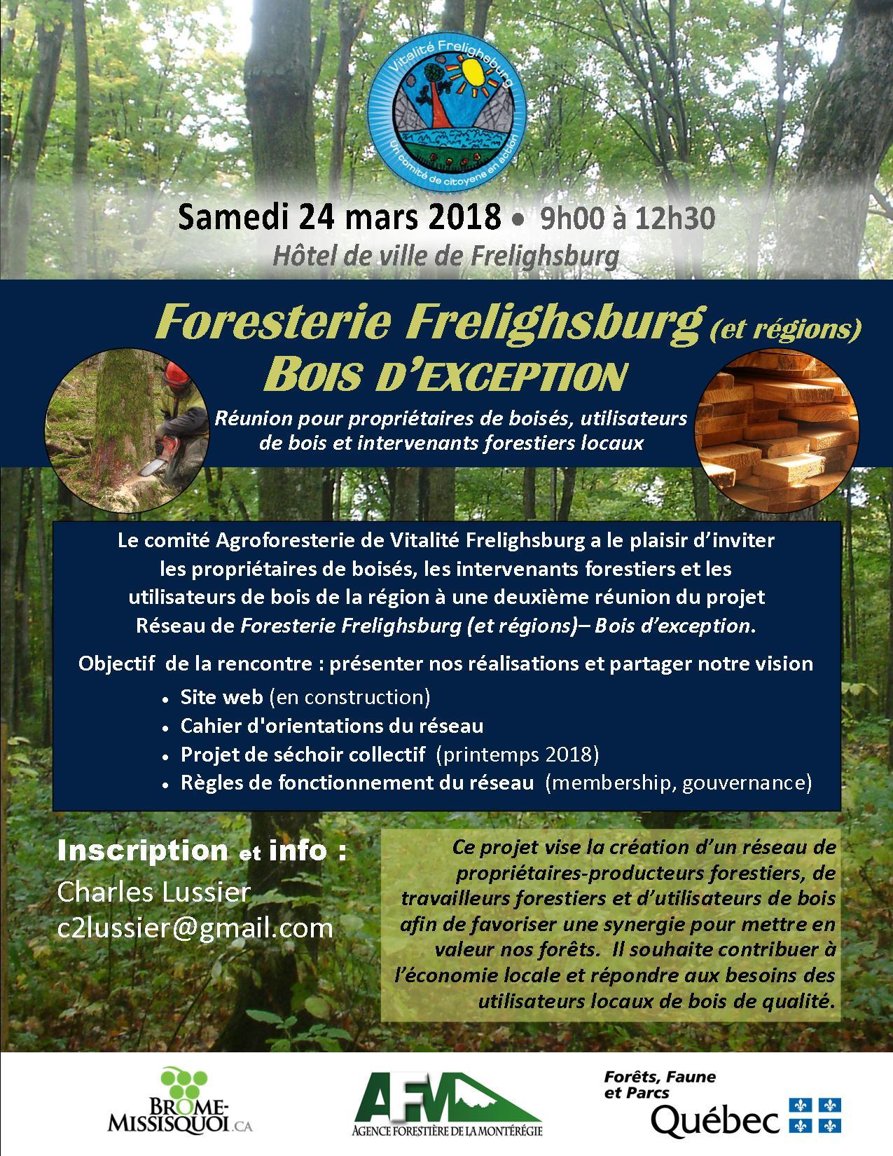 Foresterie Frelighsburg (et régions) - Bois d'exception