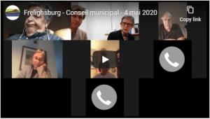 Video Frelighsburg Conseil municipal 4 mai 2020