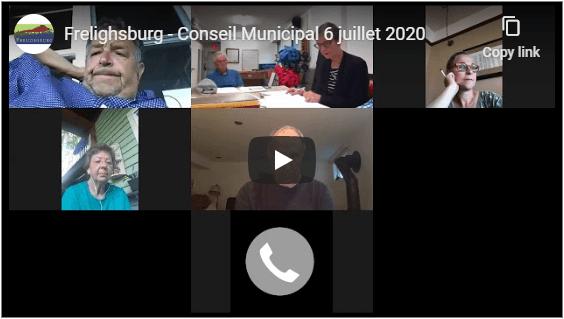Conseil municipal - 6 juillet 2020